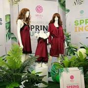 热烈祝贺100%女人2019春夏新品发布会圆满完成!