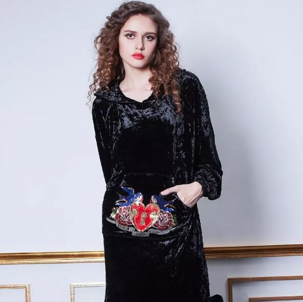 GHYCI女装品牌——复古丝绒,美得优雅又低调