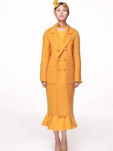 XiaoStudios女装黄色西装