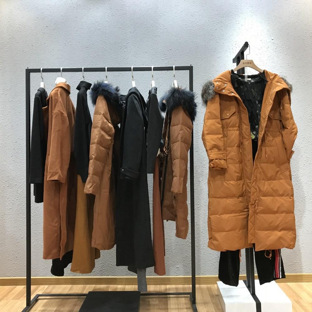 昆诗兰品牌女装2018新款折扣货源批发