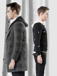它钴男装秋冬新款外套