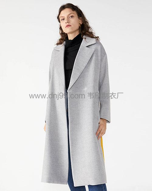 欧美女装长款大衣供应