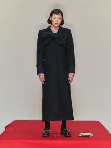 SHUSHU/TONG 女装黑色时尚大衣
