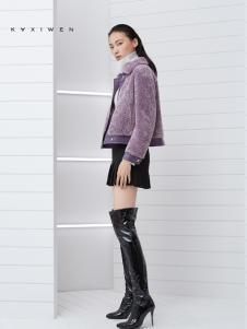 2018佧茜文女装短款外套