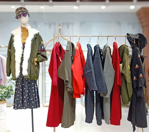季·思羽双面羊绒大衣品牌折扣女装库存一手货源