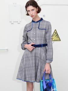 2018betu百图女装秋冬连衣裙
