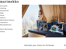 芬兰时尚品牌Marimekko最新季度财报:销售利润双增长
