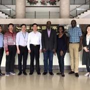 热烈欢迎驻穗乌干达总领事一行参观富绅集团