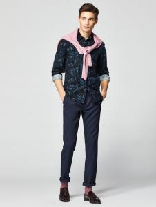 2018杉杉男装格子衬衫