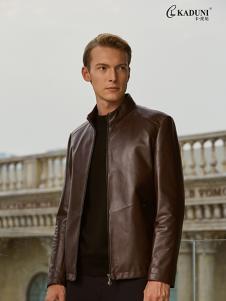 2018卡度尼男装皮衣外套