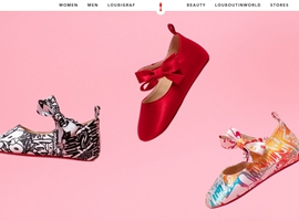 Louboutin产品延伸新动向:推婴儿鞋胶囊系列 全球限量
