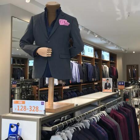 恭喜罗蒙新零售陕西西安莲湖西大街上海城店盛大开业