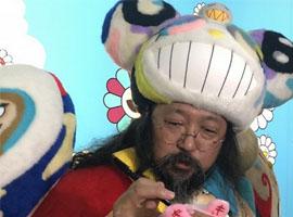村上隆自己到中国办了场个人展 这次的展览是真的