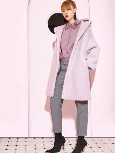 2018西蔻女装甜美大衣