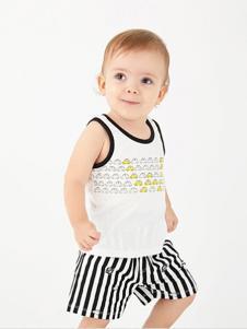 哇喔森堡童装时尚儿童内衣套装