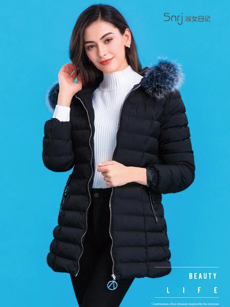 淑女日记冬装羽绒服