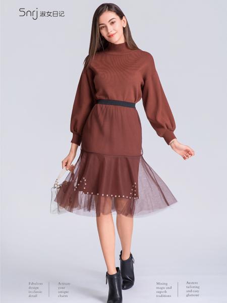 淑女日记女士连衣裙