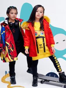 JOJO童装2018女童时尚羽绒服