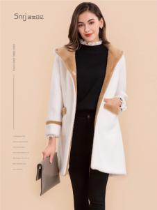 淑女日记白色外套