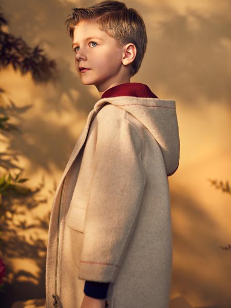 RBIGX瑞比克秋冬新款呢子大衣