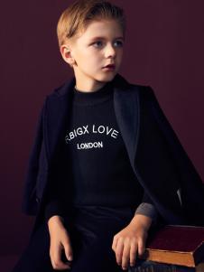 RBIGX瑞比克秋冬新款黑色外套