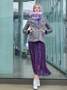 ANOTHER ONE18唯美紫色半裙