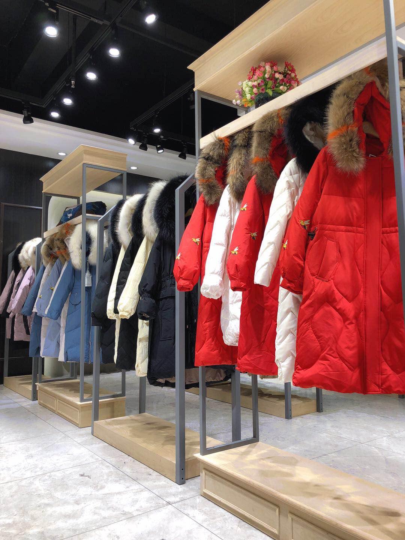 西娅品牌折扣女装羽绒服货源批发