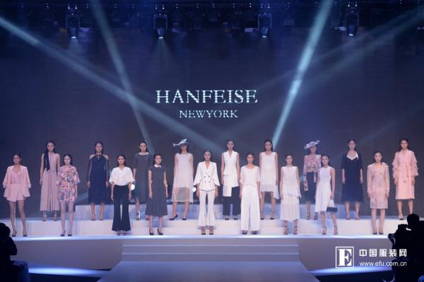 HANFEISE韩菲斯2018时尚发布秀 解析结构魅影的奥妙