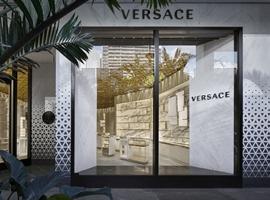 Versace邀请法国知名设计师全面改造升级品牌门店(图)