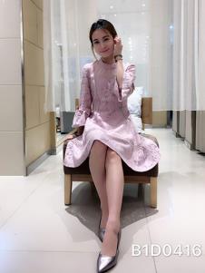 合集女装粉色甜美连衣裙