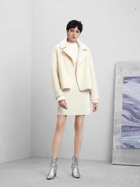 5secs五秒轻潮女装冬装新款呢子外套