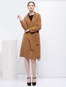 2018艺梦来女装气质修身大衣