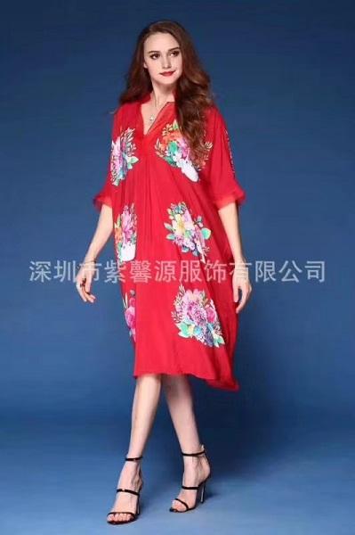 紫馨源服饰折扣尾货女装一手货源供应