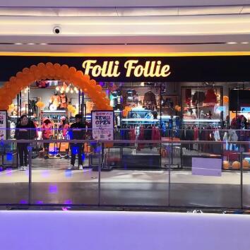 NEW OPEN | FOLLIFOLLIE强势入驻昆明大悦城购物中心!