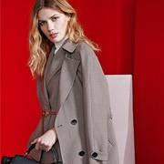 大衣怎么穿好看 乔帛新品大衣让你优雅过秋冬