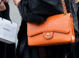 Chanel宣布停用鳄鱼皮等稀有皮毛 二手价格飙升