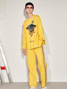 SIASTELLA女装黄色时尚套装