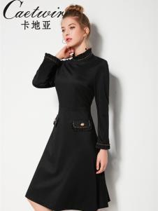 2018卡地亚女装黑色打底裙