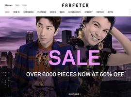 奢侈品电商Farfetch号召减少打折促销 引发业内争议