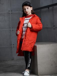 2018YukiSo女童红色外套