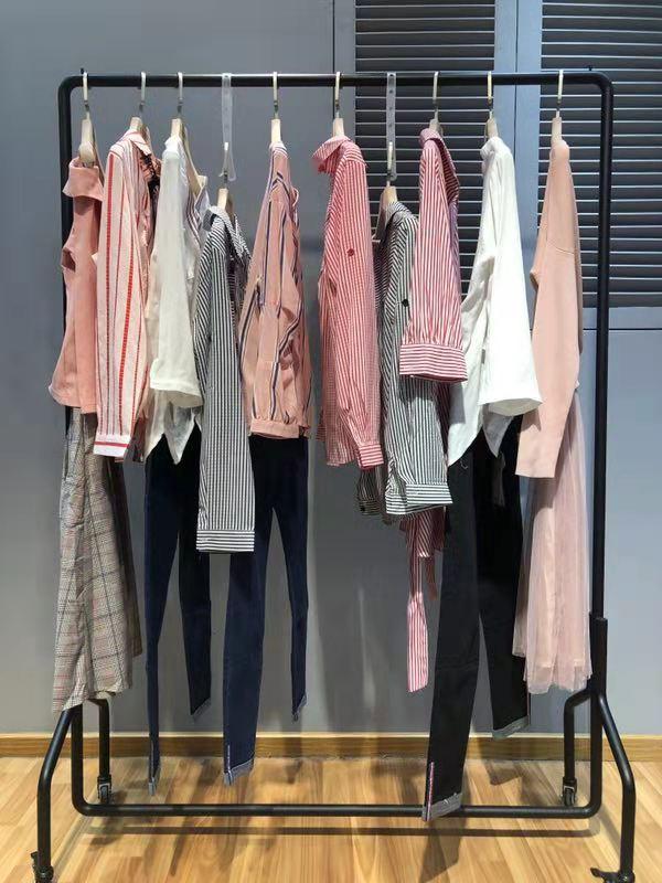 米莱品牌2019春季女装一手货源批发