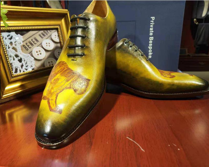2018冬季新款定制皮鞋