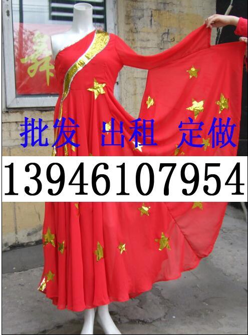 表演服装出租一手货源,哈尔滨市舞贝儿服饰