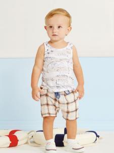 婴奈儿童装印花时尚套装