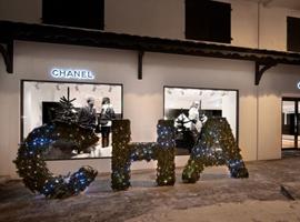 Chanel连续十年在法国高端滑雪地Courchevel推出游击店