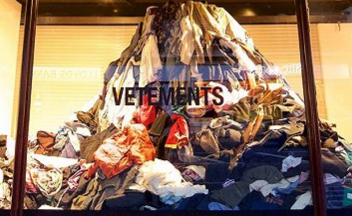 时尚界最关注的环保题材:生产过剩变垃圾怎么办