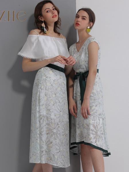 艾丽哲女装春夏新款连衣裙