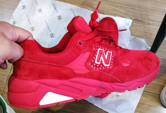 朋友买了双新百伦领跑的鞋子感觉挺不错