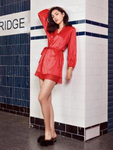 布迪设计红色家居服