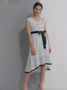 艾丽哲女装2019?#21512;?#26032;款连衣裙
